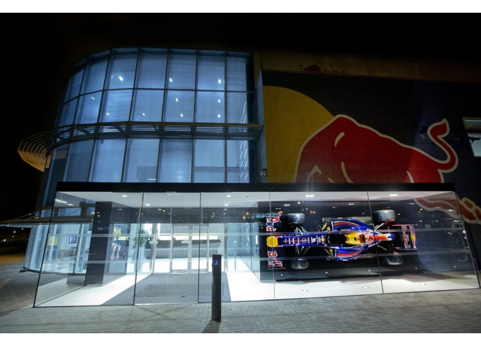 Commercial Lighting Projects - RED BULL RACING, MILTON KEYNES