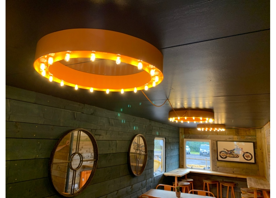 Commercial Lighting Projects - TOAST, FLYFORD FLAVELL (WORCS)