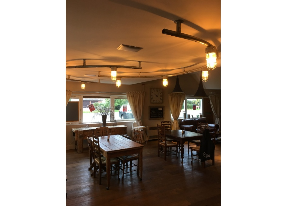 Commercial Lighting Projects - NORTON HALL, WORCS.