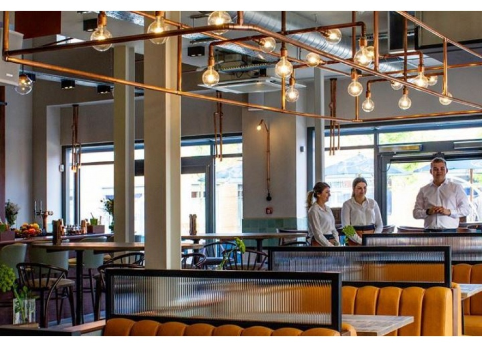 Commercial Lighting Projects - THE LEAFY ELEPHANT, WOKINGHAM