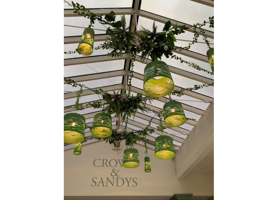 Commercial Lighting Projects - THE CROWN & SANDYS, OMBERSLEY