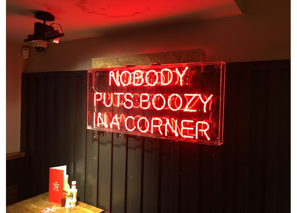 Commercial Lighting Projects - BOOZY COW, DUNDEE