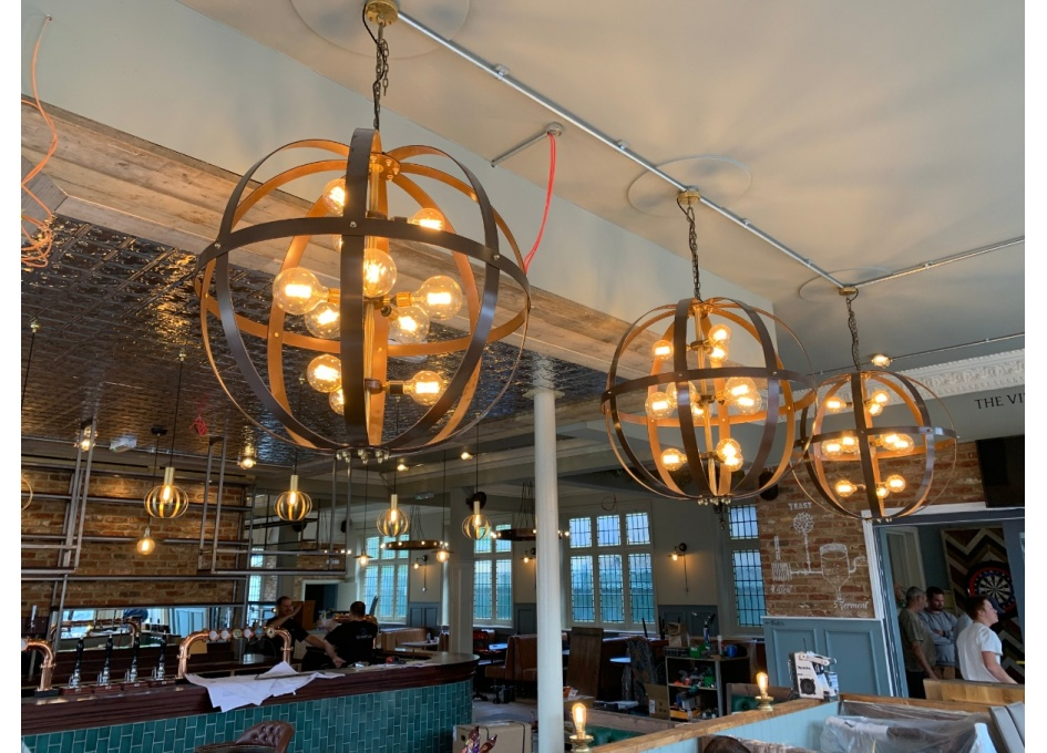 Commercial Lighting Projects - THE ROOKWOOD VILLAGE, LEYTONSTONE