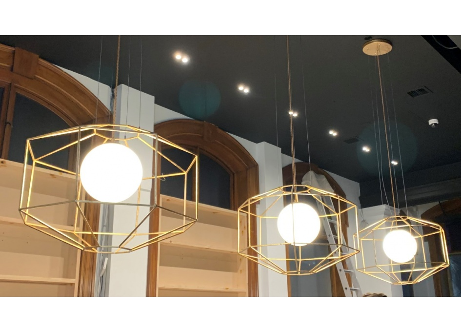 Commercial Lighting Projects - CAFE CADENA, WORCESTER