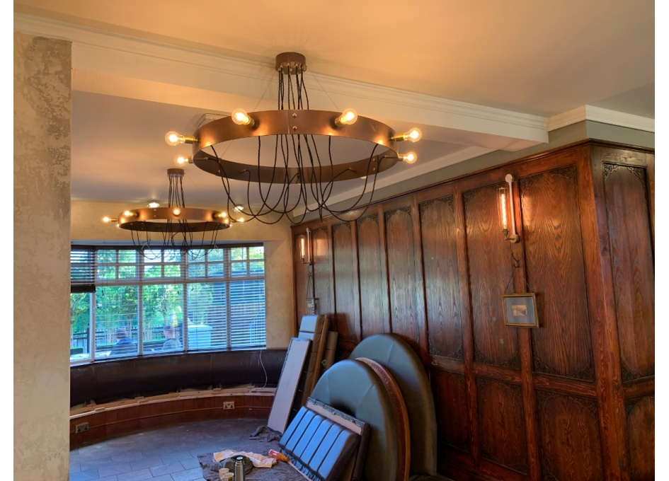 Commercial Lighting Projects - THE KINGS HEAD, HAGLEY ROAD BIRMINGHAM