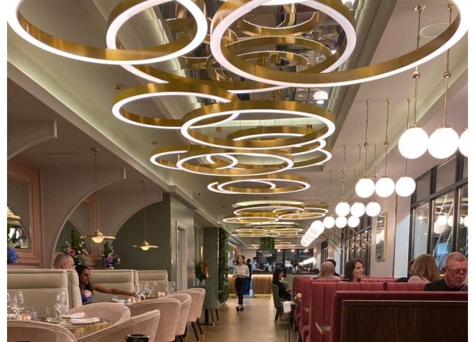 Commercial Lighting Projects - NOEL'S BAR, WATERFRONT WALK BIRMINGHAM