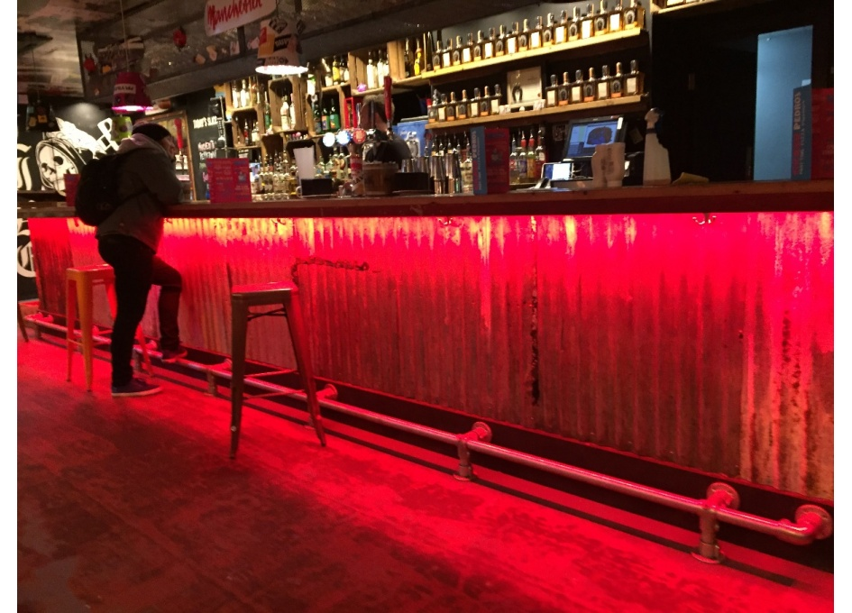 Commercial Lighting Projects - CRAZY PEDRO'S, MANCHESTER