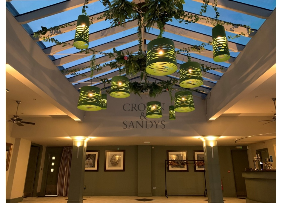 Commercial Lighting Projects - THE ORANGERY, CROWN & SANDYS